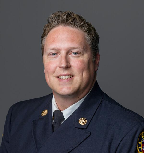 Joel Crenshaw District Chief – Volunteers