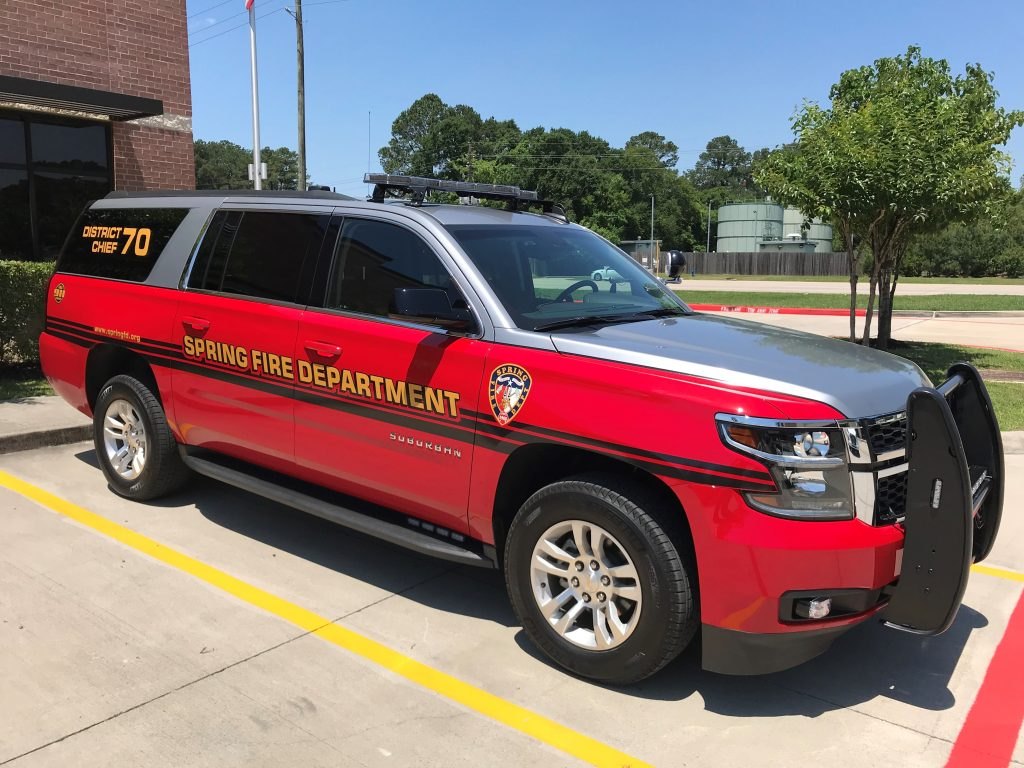 Real Time 911 >> New Command Vehicle in Service - Spring Fire Department
