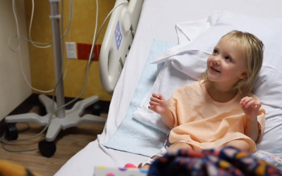 Spring Fire Delivers Joy to Hospitalized Kids