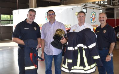 Spring Fire Presented with French Firefighting Gear