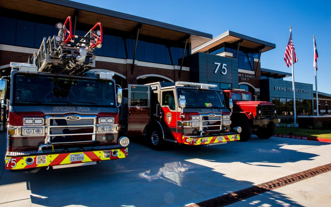 Spring Opens Newest Fire Station