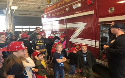 Homeschoolers Enjoy Visiting Station 71