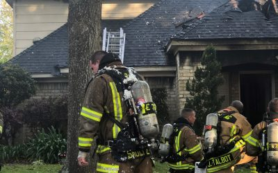 Spring Firefighters Tackle Tough House Fire in Candlelight Hills
