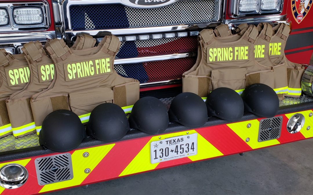 Spring Fire Deploys Ballistics Gear