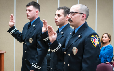 Three Spring Firefighters Promoted