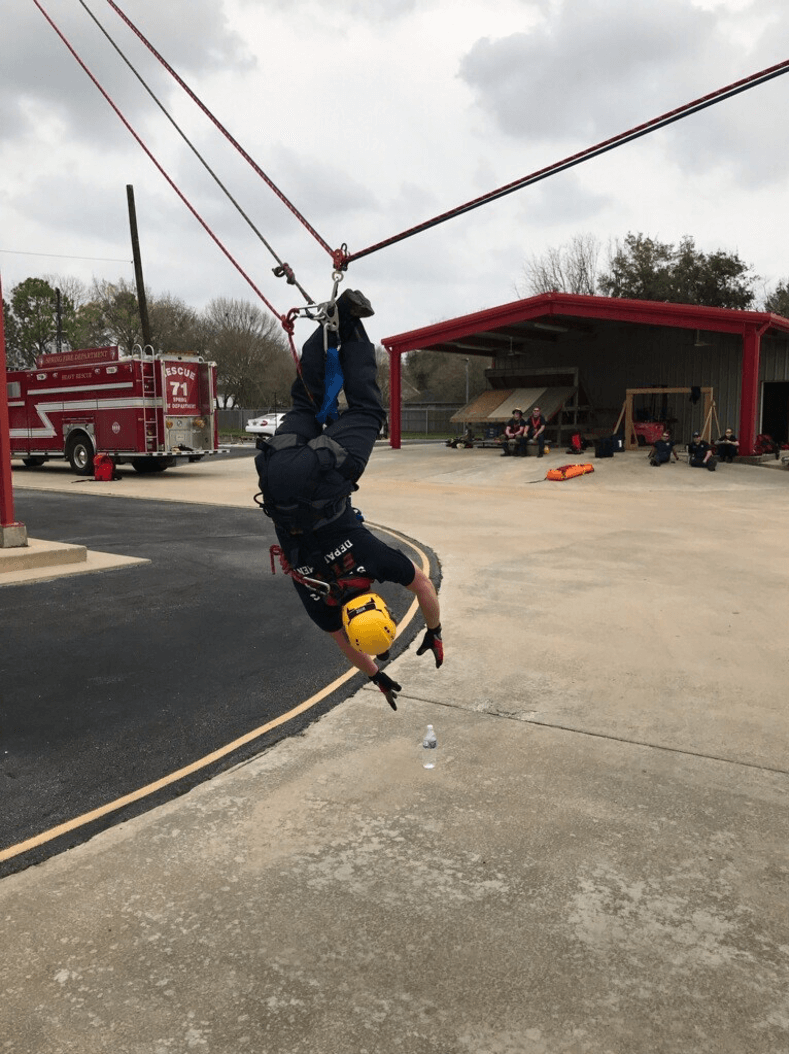 Training Sharpens Rescue Team Skills